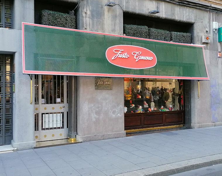 Tienda de moda Justo Gimeno Gran Via