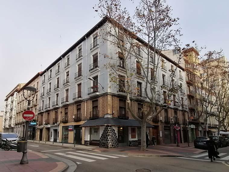 Calle Canfranc de Zaragoza