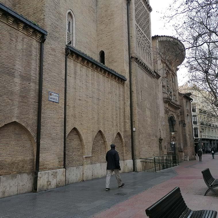 La Iglesia de San Miguel de los Navarros de Zaragoza