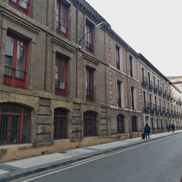 Vista de la Calle Bilbao desde Casa Jiménez