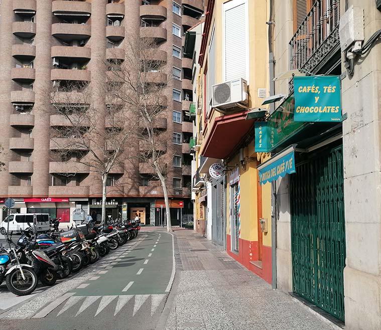 Vista de la Plaza San Miguel