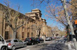 Avenida de América en el barrio de Torrero