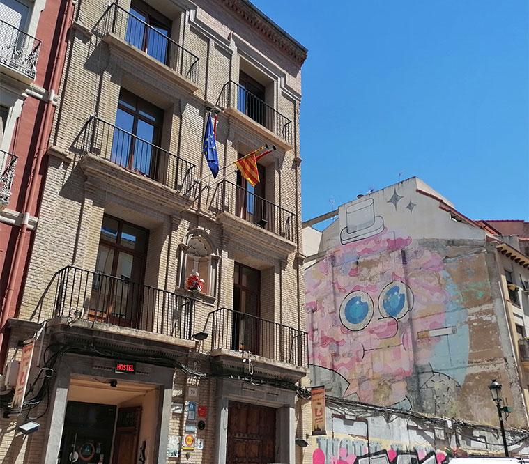 Albergue de Zaragoza en la Calle Predicadores