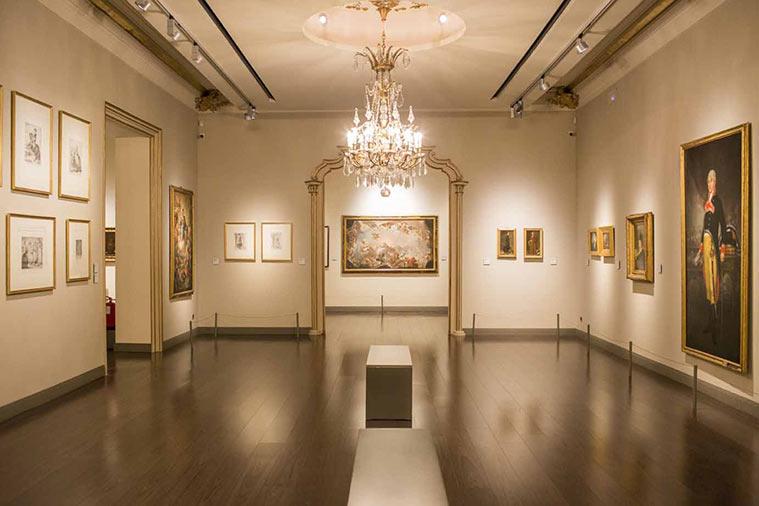 Obras deFrancisco de Goya en el Museo homónimo