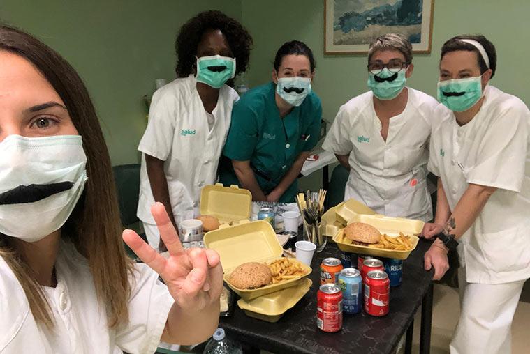 Gastro AplauSOS: cenas solidarias para los sanitarios que luchan contra el coronavirus en Zaragoza
