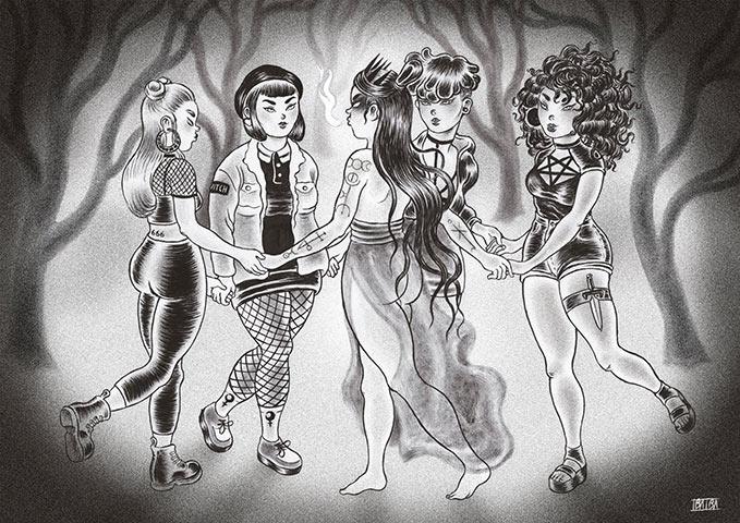 Isa Ibaibarriaga ilustración