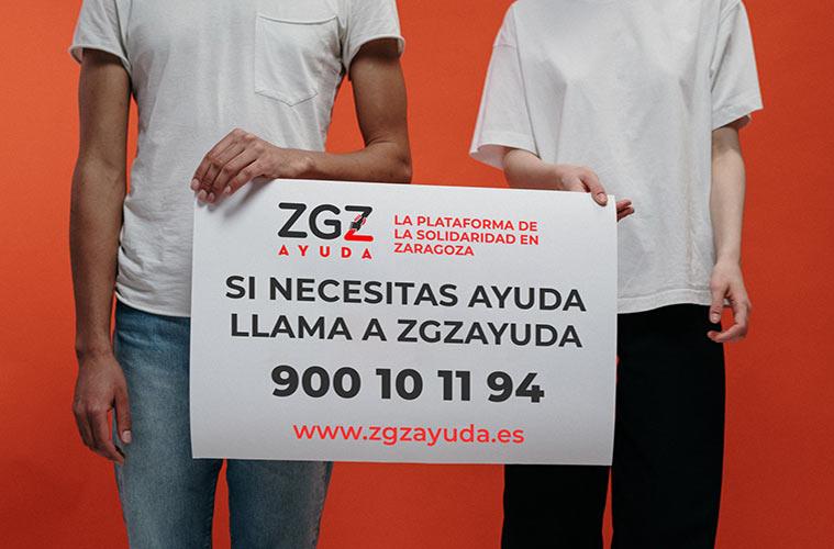 'ZGZ Ayuda', laplataforma para canalizar la solidaridad ciudadana contra el coronavirus