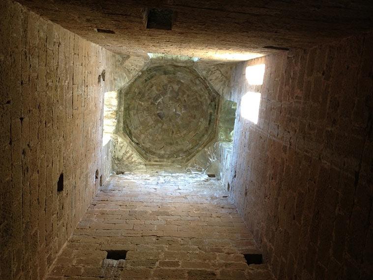 cupula romanica del castillo de loarre