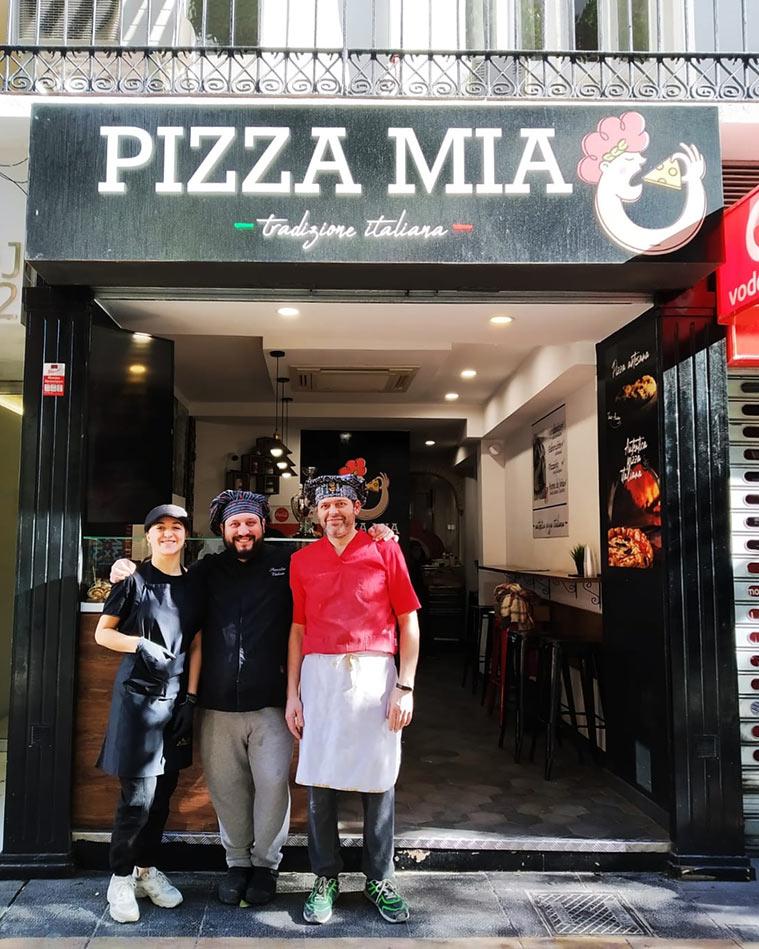 pizza mia calle don jaime-pizzeria napolitana en zaragoza