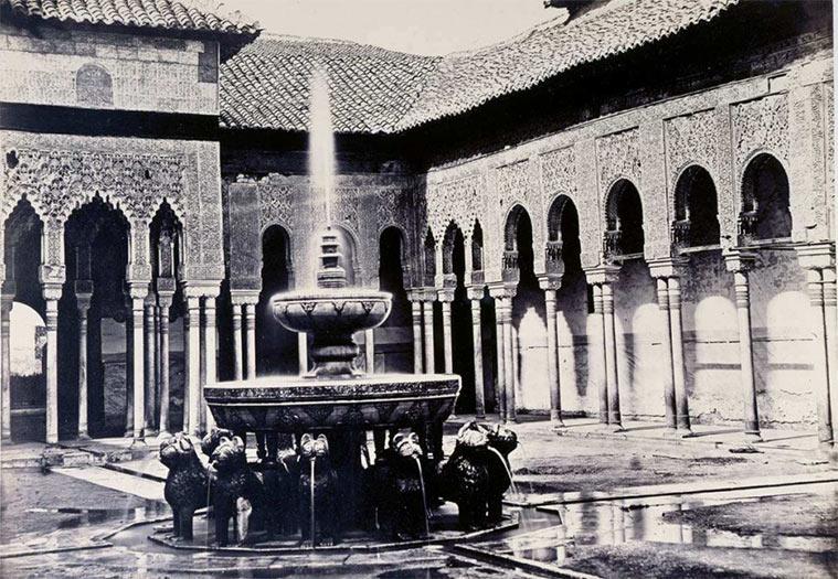 La Alhambra. Patio de los Leones