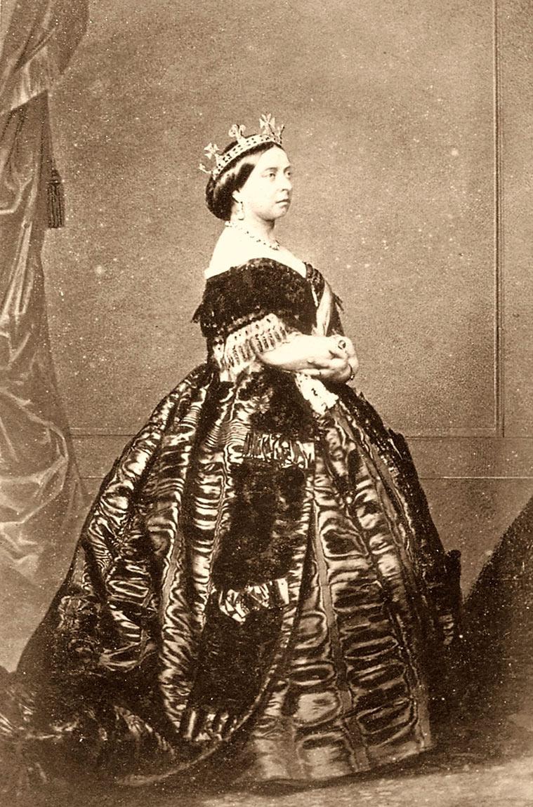 La Reina Victoria en Windsord, 1861. Charles Clifford
