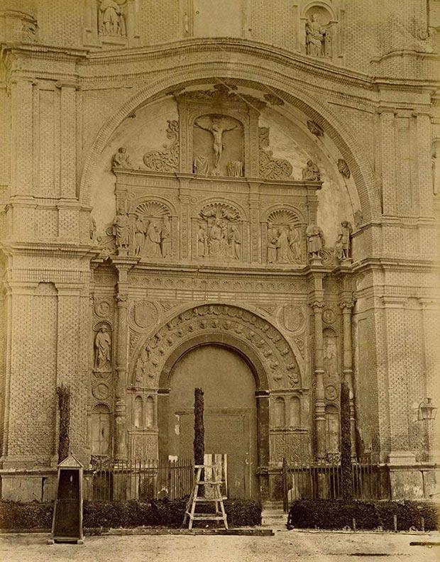 Fachada principal de la Iglesia de Santa Engracia