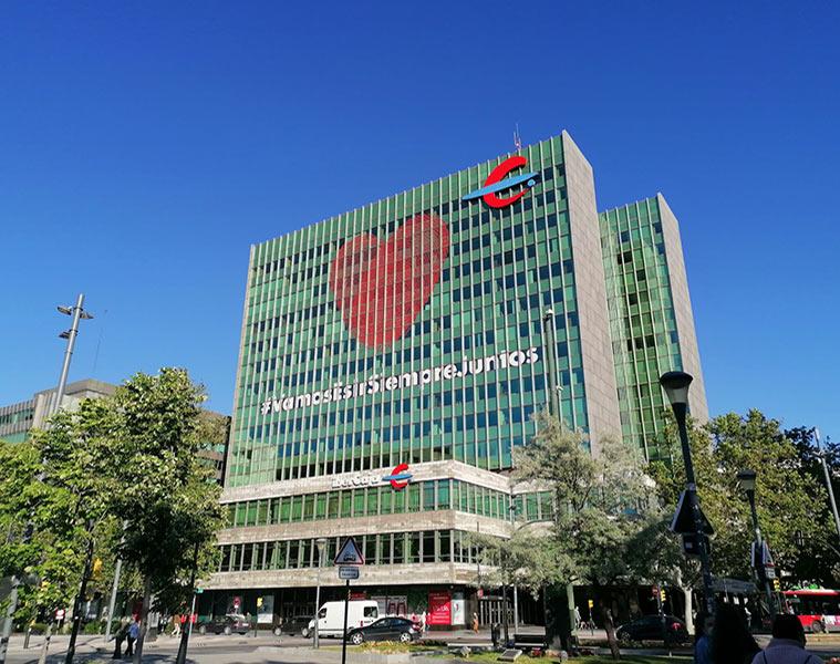Edificio Ibercaja en Zaragoza