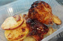 comida para llevar en suculento valdespartera