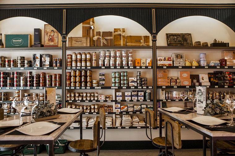 la tienda gourmet es uno de los referentes gasronómicos de Zaragoza