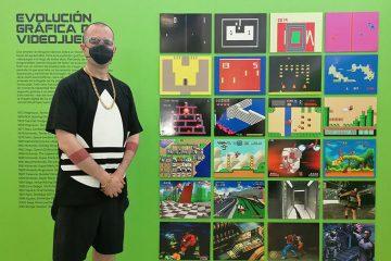Abraham San Pedro, comisario de la exposición 'Consolas, democratizar la imagen digital 1972-2003'