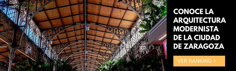Conoce las joyas de la arquitectura modernista de la ciudad de Zaragoza