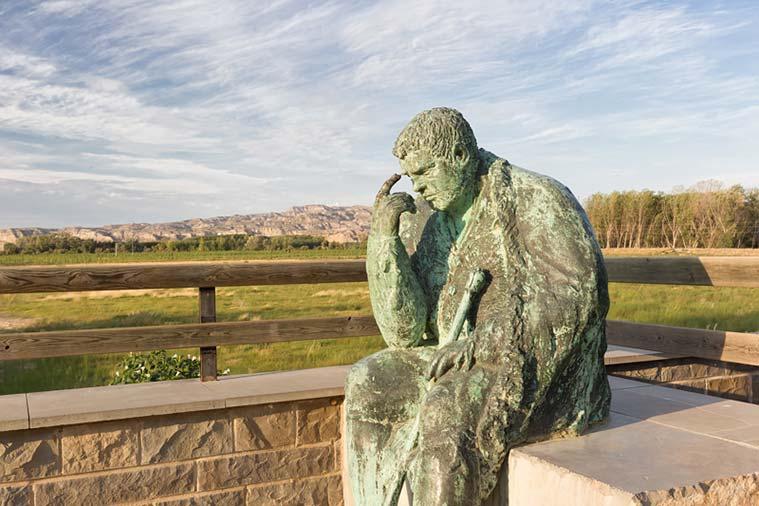 Monumento a Sancho Panza en Alcalá del Ebro