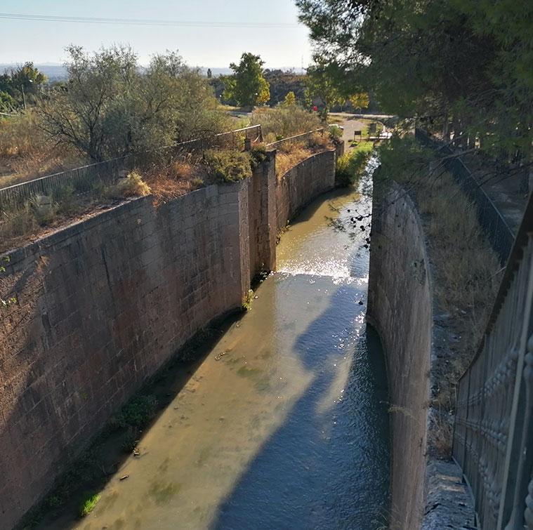Otra vista de las Esclusas de Valdegurriana