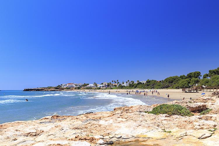 Playa La Romana Alcossebre Castellon Costa Azahar