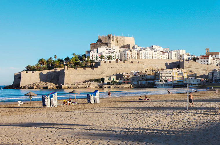 Playa Norte Peniscola Castellon Costa Azahar