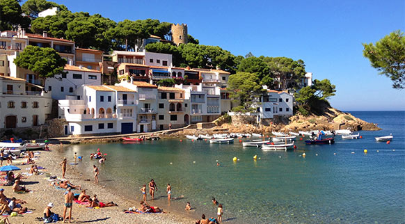 Playa Sa Tuna (Begur, Costa Brava)