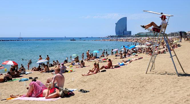 Playa de La Barceloneta Barcelona