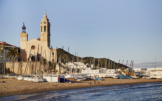 Playa de Sitges Barcelona