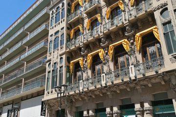 el Antiguo Casino Mercantil de Zaragoza en el Coso