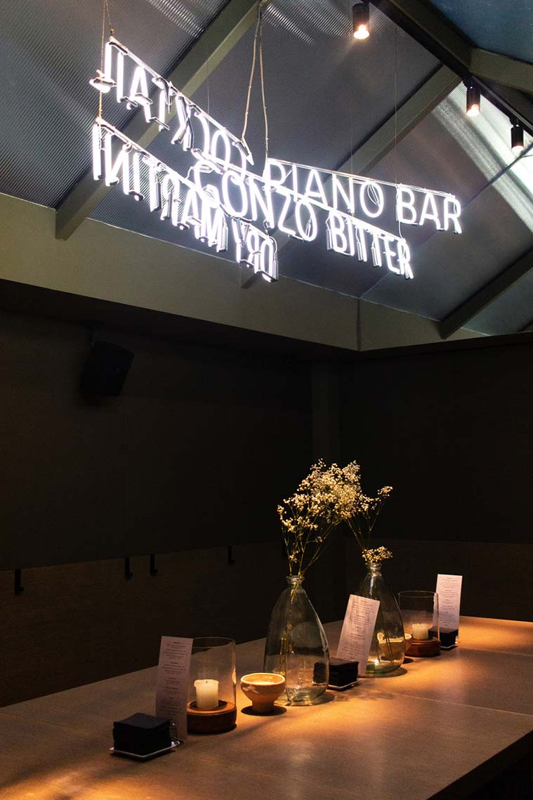 reservado del gonzo bitter bar