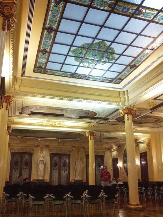 salon del casino mercantil de zaragoza