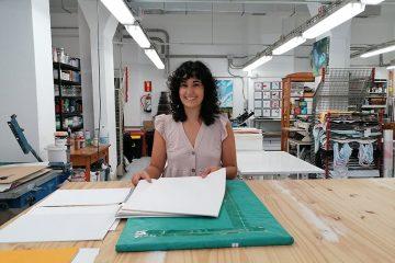 Conversamos con Natalia Royo, propietaria del taller de obra gráfica Tintaentera