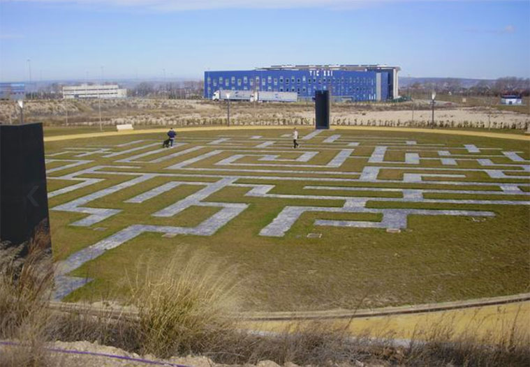 Parque Lineal de la Plataforma Logistica PLAZA de Zaragoza