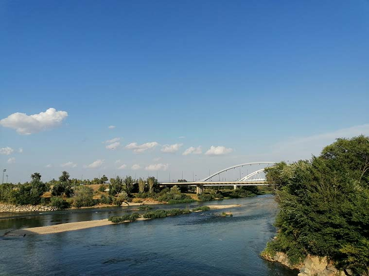 Puente de la Ronda de la Hispanidad (oficialmente llamado de Manuel Giménez Abad)