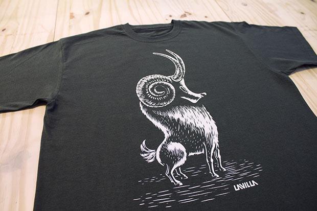 Camiseta obra de Javier Lavilla