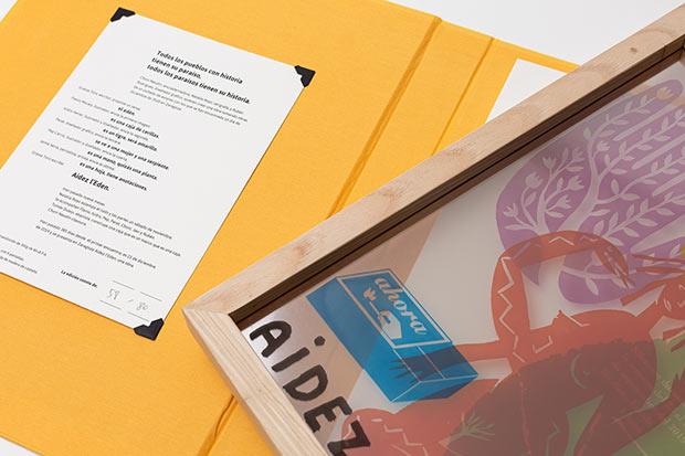 Imagen del proyecto Aidez al Eden, en el que participaron Isidro Ferrer, Jaime Serra, Pep Carrió, Peret, Flavio Morais y Grassa Toro