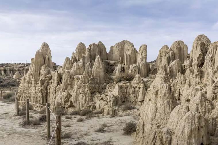 Aguarales de Valpalmas Capadocia en zaragoza