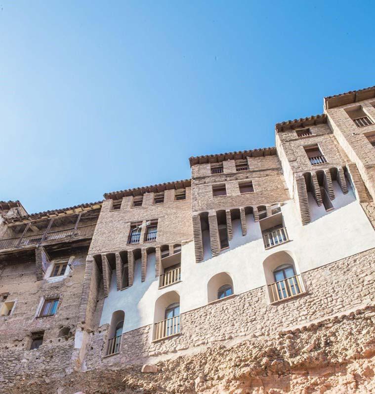Calles del antiguo barrio de lajudería de Tarazona