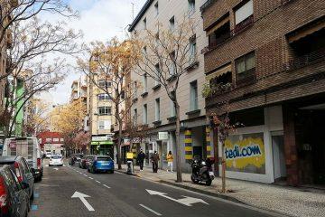 Calle Unceta de Zaragoza