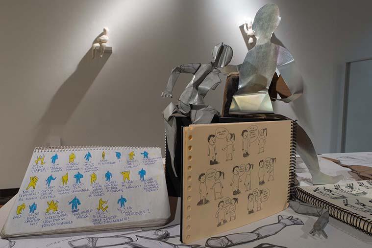 Exposicion El limite crudo de Noelia Marin en el Palacio Montemuzo