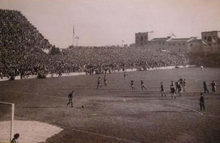 En 1923 inauguró el campo de Torrero, sede de los primeros pasos del Real Zaragoza