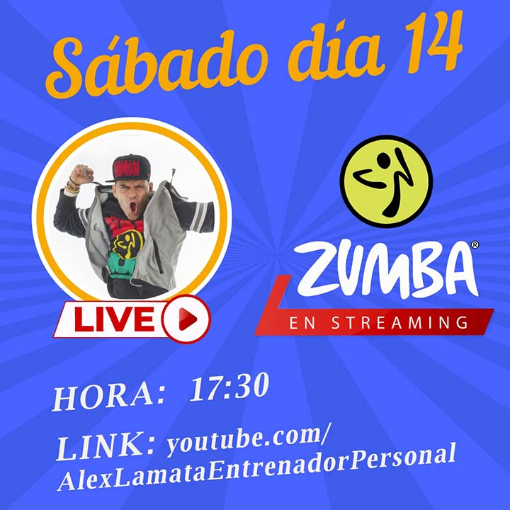 zumba en streaming en ocio alternativo zaragoza