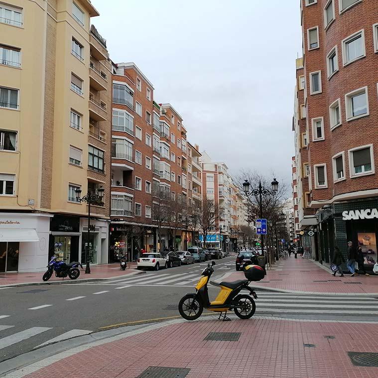 Calle Leon XIII centro de zaragoza