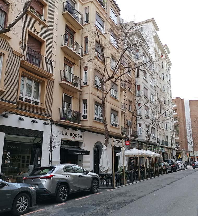 Calle Madre Vedruna Zaragoza