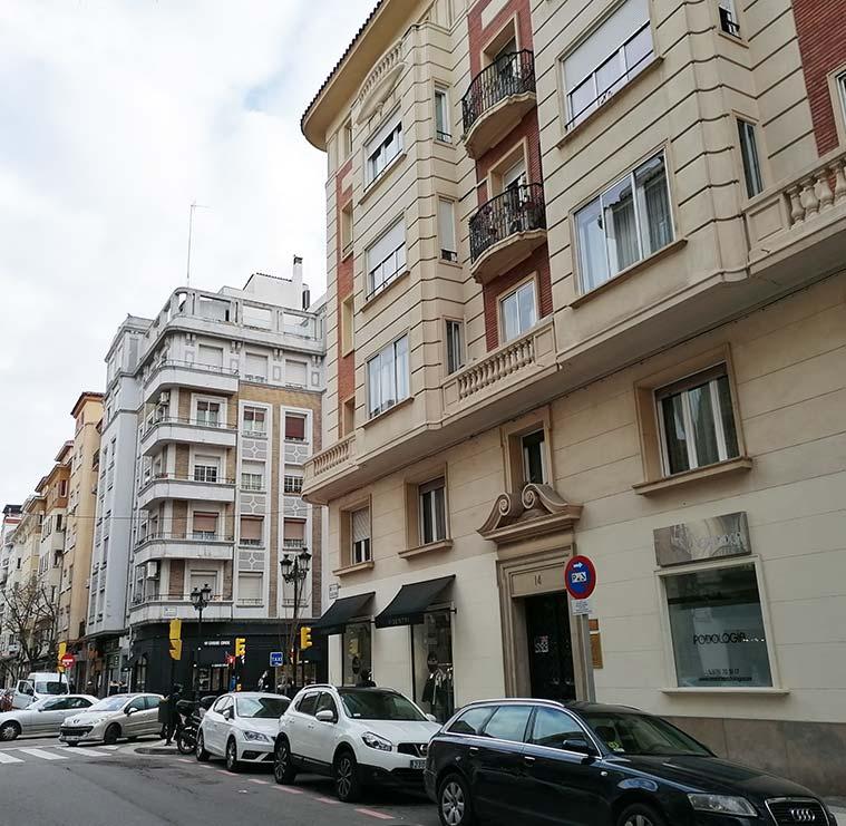 Calle Madre Vedruna de Zaragoza