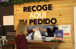 El área gastronómica de GranCasa se reinventa apostando por el 'Take Away' y 'Delivery'