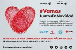 Ibercaja y su Fundación lanzan la iniciativa solidaria 'Vamos es ir siempre juntos, también en Navidad'