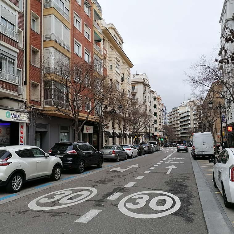 calle leon XIII de Zaragoza