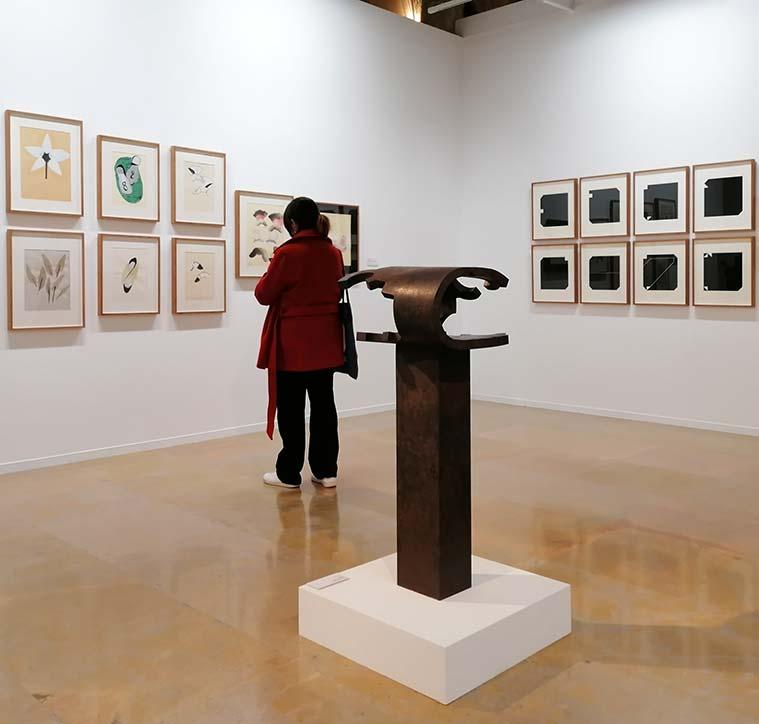 Exposición 'Destacados. Colección Telefónica', en La Lonja