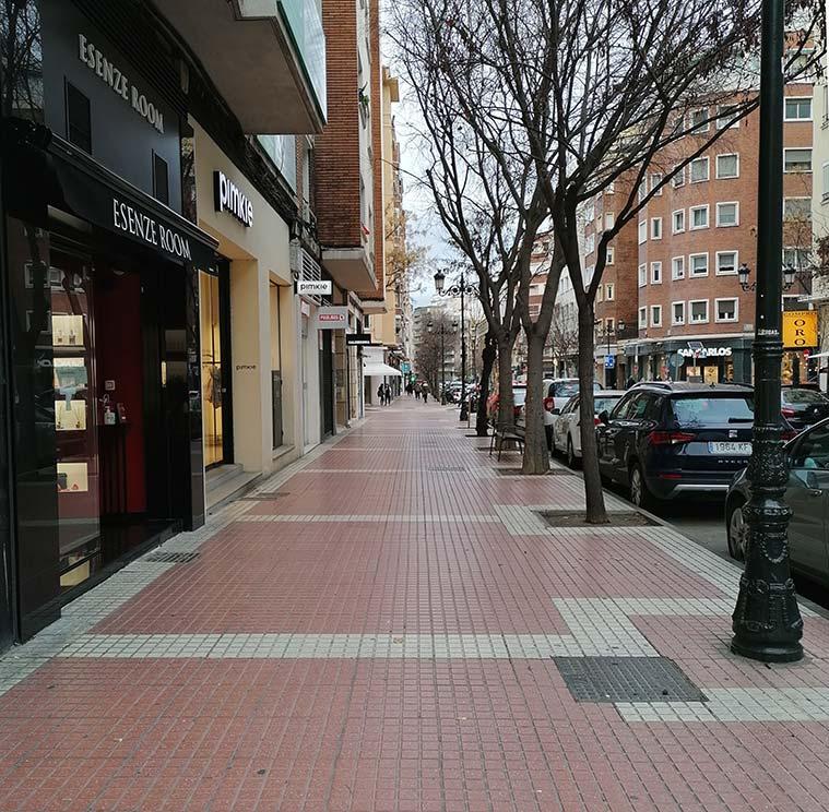 paseando por la calle leon xiii de zaragoza